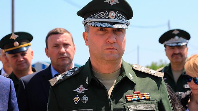 Замминистра обороны Иванов проверил в Калининграде готовость нового здания арсенала