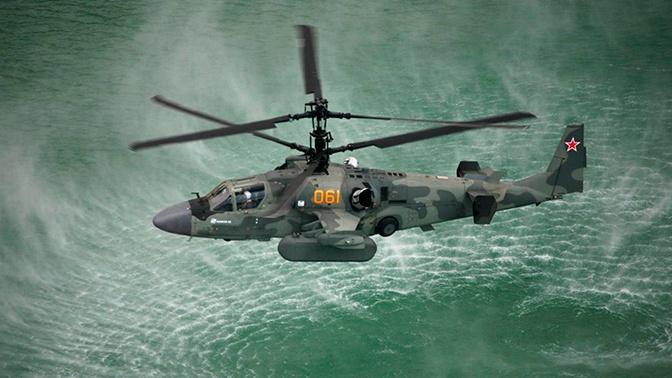 Ка-52К «Катран» получил возможность эвакуировать раненых с корабля