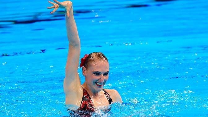 Синхронистка Светлана Ромашина завоевала 20-е золото ЧМ в карьере