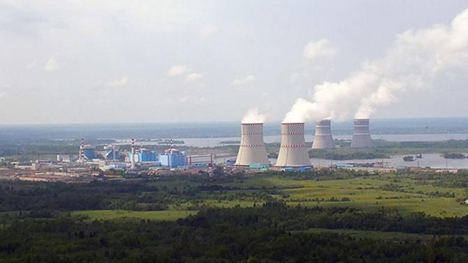 Три энергоблока Калининской АЭС отключены из-за выключения трансформатора