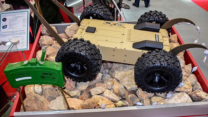 В Минобороны рассказали об испытаниях робота-разведчика «Скорпион»