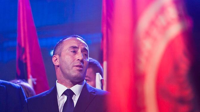 Премьер-министр Косово ушел в отставку из-за Гааги
