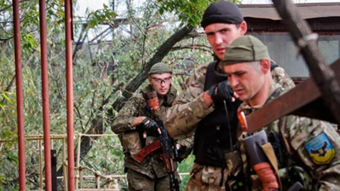 Нетрезвые бойцы нацбатальона «Айдар» подорвались на мине в Донбассе