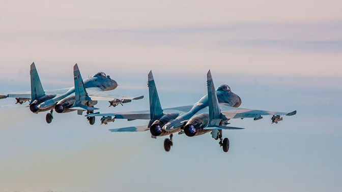 ВКС РФ шесть раз за неделю поднимались на перехват иностранных разведчиков