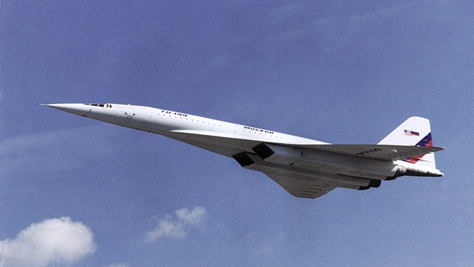 В России может быть создан двигатель для сверхзвукового гражданского лайнера