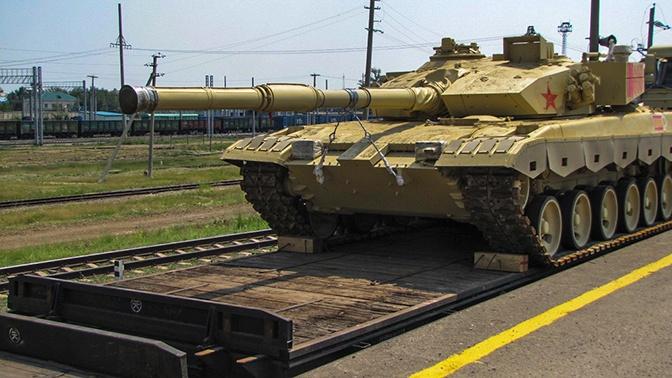 Китайские танки прибыли в Забайкалье для участия в АрМИ-2019