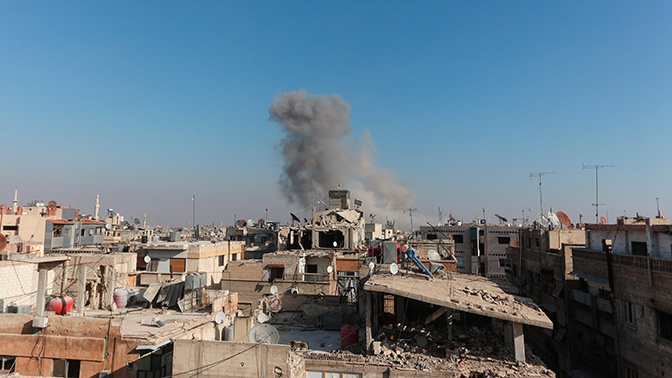 Боевики нанесли удары по сирийским провинциям Хама и Латакия