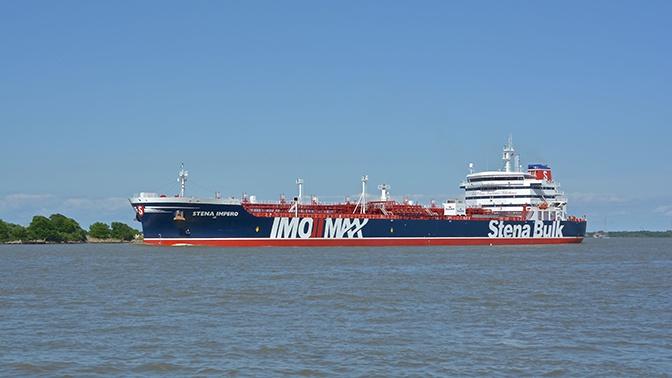 В Иране задержали британский нефтяной танкер