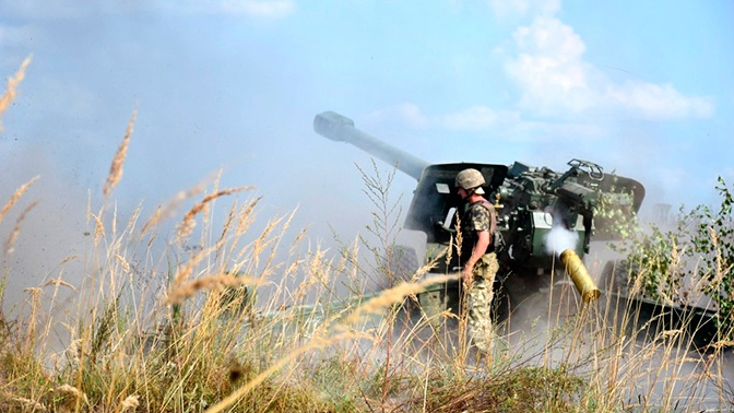 Военнослужащие ВСУ подорвались на мине в первый день перемирия
