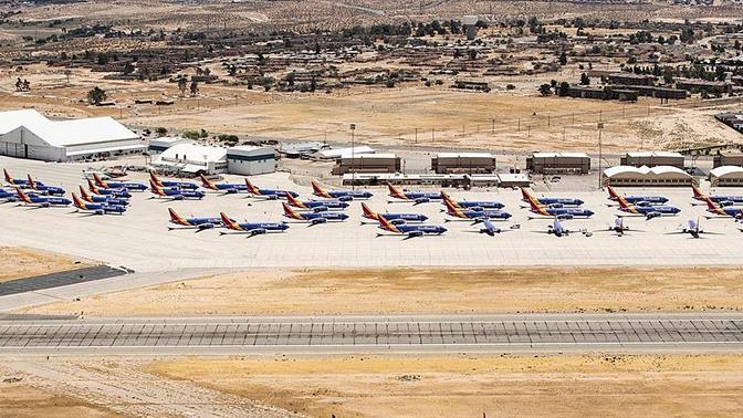 «Кладбище» самолетов Boeing 737 Max обнаружено в Калифорнии