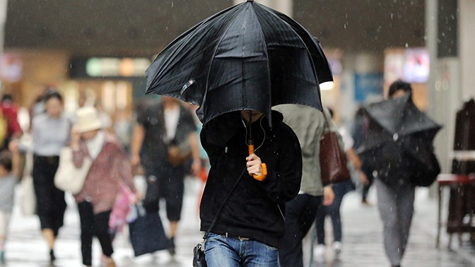 В Японии более 110 тысяч человек эвакуированы из-за ливневых дождей