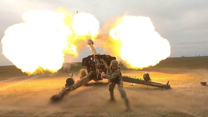 ВСУ открыли артобстрел по пляжам на Азовском побережье