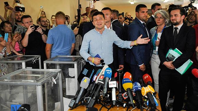 Зеленский определил приоритеты власти после выборов в Верховную раду