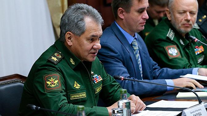 Шойгу провел встречу с заместителем Председателя Совета министров Кубы