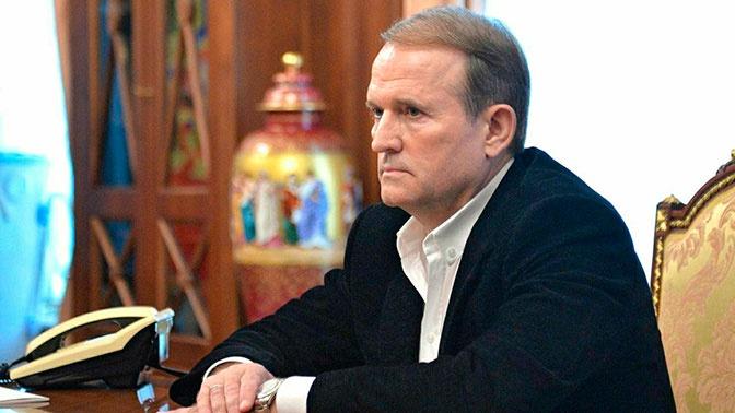 Медведчук объяснил, почему выступает на русском языке