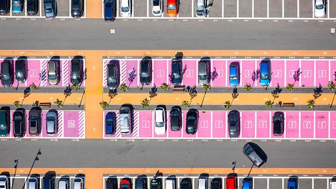 В России хотят уменьшить размеры парковочных мест