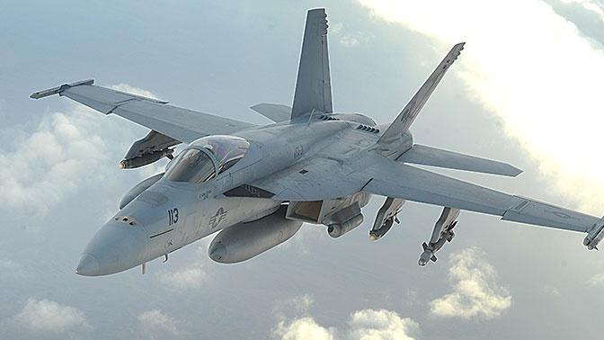 СМИ: истребитель ВМС США рухнул в Долине смерти