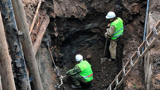В центре Москвы обнаружили артефакты XVII-XVIII веков