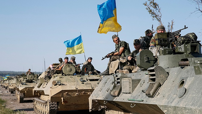 ВСУ нанесли удар с беспилотников по позициям ДНР