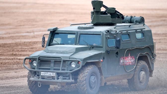 В России начались предварительные испытания бронеавтомобилей «Атлет»