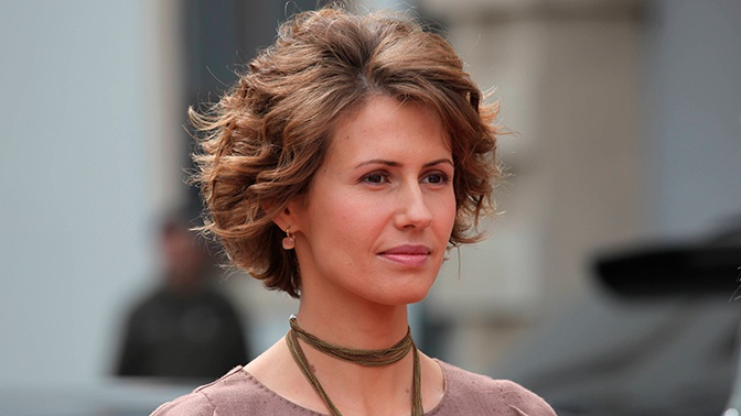 Жена президента Сирии Асма Асад вылечилась от рака