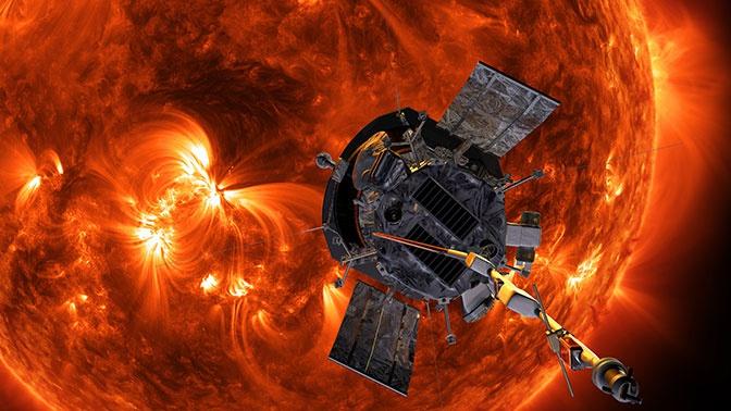 NASA получило первые данные о Солнце от космического зонда Parker Solar Probe