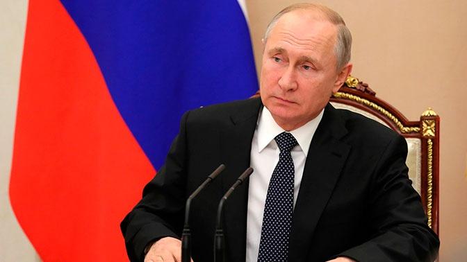 Путин провел оперативное совещание Совбеза из-за выхода США из ДРСМД