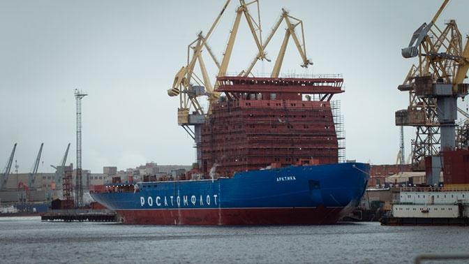 Балтзавод построит еще два атомных ледокола «Арктика»