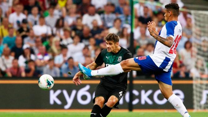 «Краснодар» проиграл «Порту» в матче Лиги чемпионов