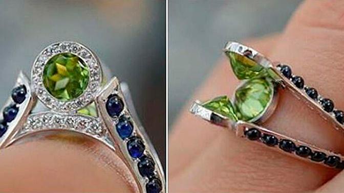 В Сети появилось фото «самого уродливого» помолвочного кольца