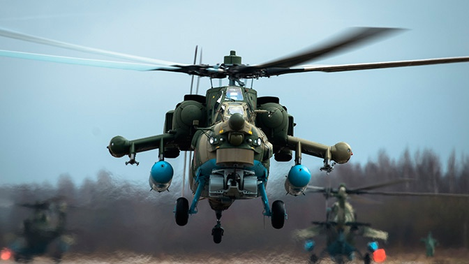 «Пустил-забыл»: новейший Ми-28НМ получил возможность обстреливать сразу две цели