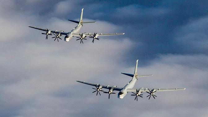 Истребители ВВС Норвегии поднялись в небо для сопровождения самолетов Ту-95МС ВКС России