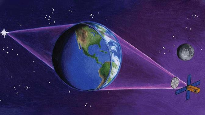 Астроном представил проект гигантского телескопа с Землей в качестве линзы