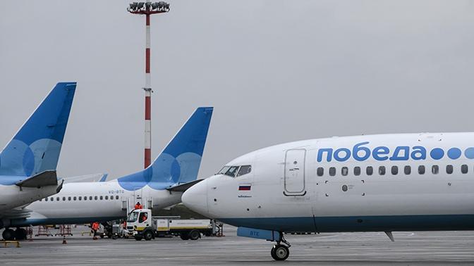 В аэропорту Минеральных Вод задержан вылет самолета из-за попавшей в двигатель птицы