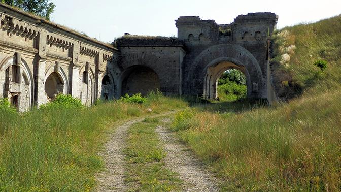 В Керченской крепости обнаружили 1700 авиабомб
