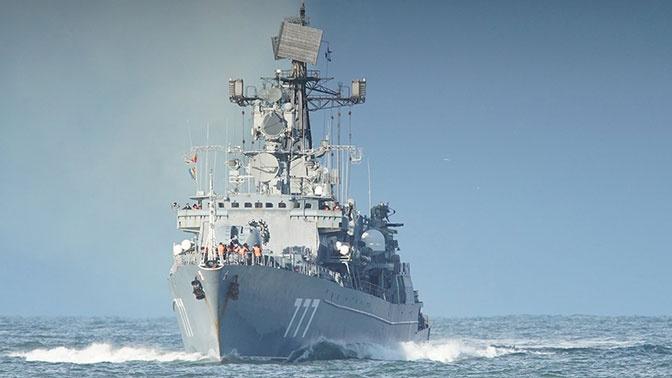 Эсминцы и корветы: в США сравнили российский и американский флот