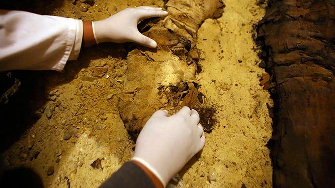 Мумии возрастом около трех тысяч лет обнаружили в Йемене