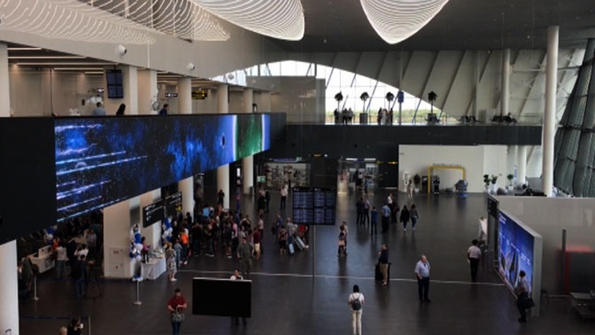В новом международном аэропорту Саратова приземлился первый рейс