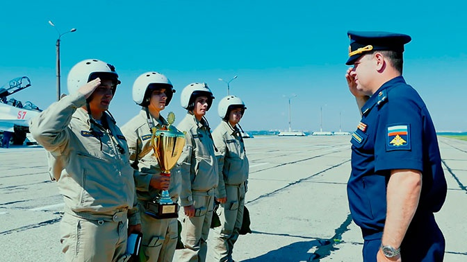 Летчики ЗВО привезли «золото» с Международного этапа конкурса АрМИ-2019 «Авиадартс»