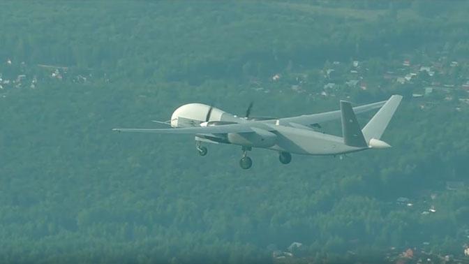 Опубликованы кадры первого полета новейшего беспилотника «Альтиус-У»