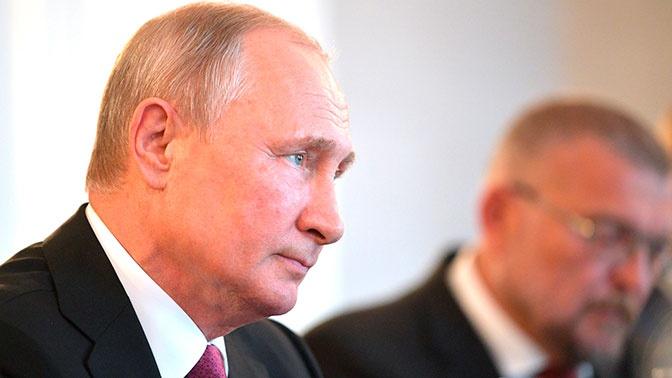 «Россия разочарована»: Путин об испытаниях ракеты США