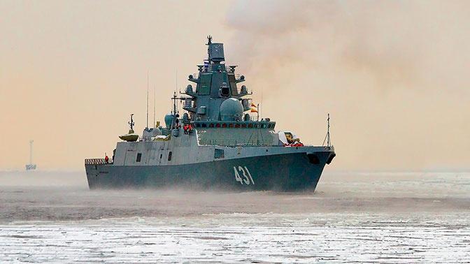 Главком ВМФ дал указания по испытаниям фрегата «Адмирал Касатонов» и корвета «Гремящий»