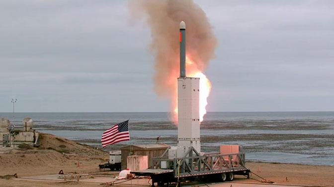 В США назвали причину испытаний крылатой ракеты