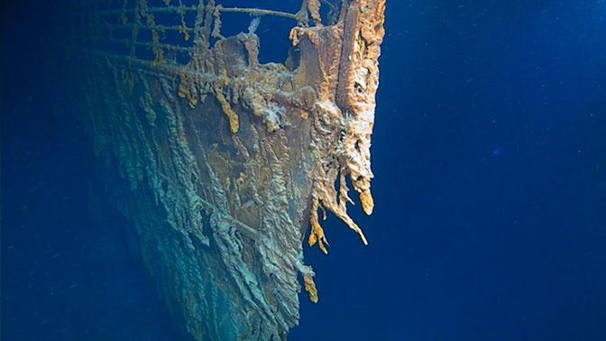 Первый за 15 лет визит к обломкам «Титаника» поразил дайверов