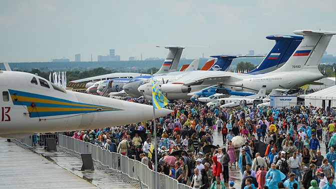На МАКС-2019 свою продукцию представят около 80 предприятий Подмосковья