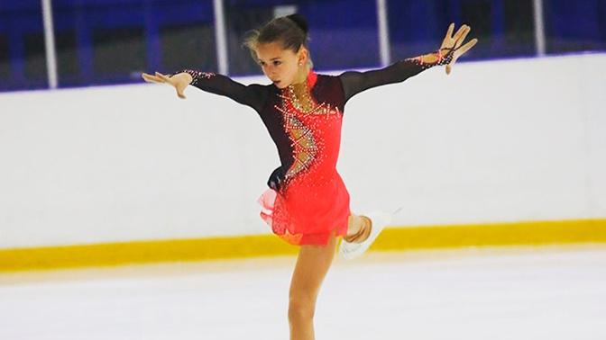 Российская фигуристка Валиева выиграла первый этап юниорского Гран-при