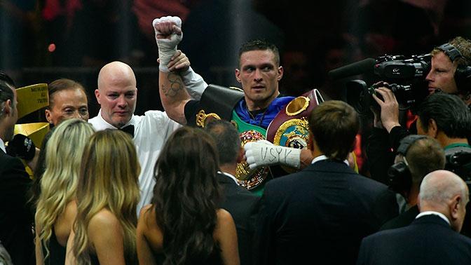Украинский боксер Усик отказался от боя с россиянином Федосовым