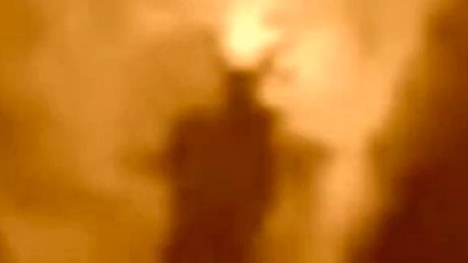 Демоническая энергия: британец уверяет, что снял на видео мифическое существо