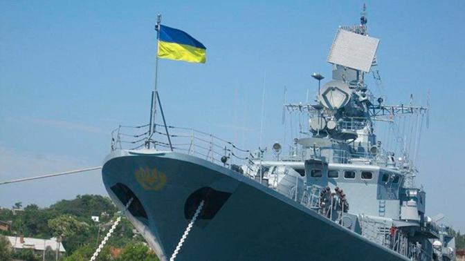 На Украине заявили о заходе своего корабля в район российских учений