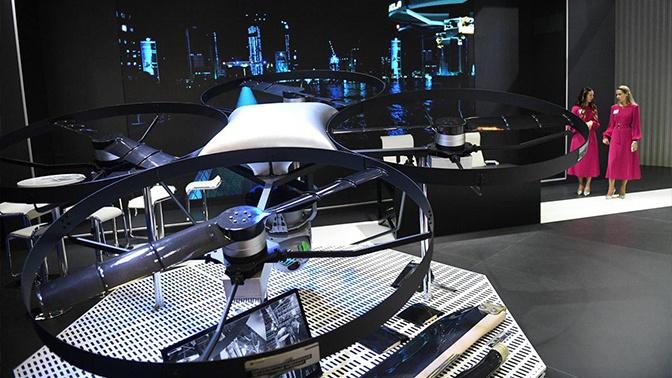 Ростех показал на МАКС-2019 новейший вертолетный беспилотник